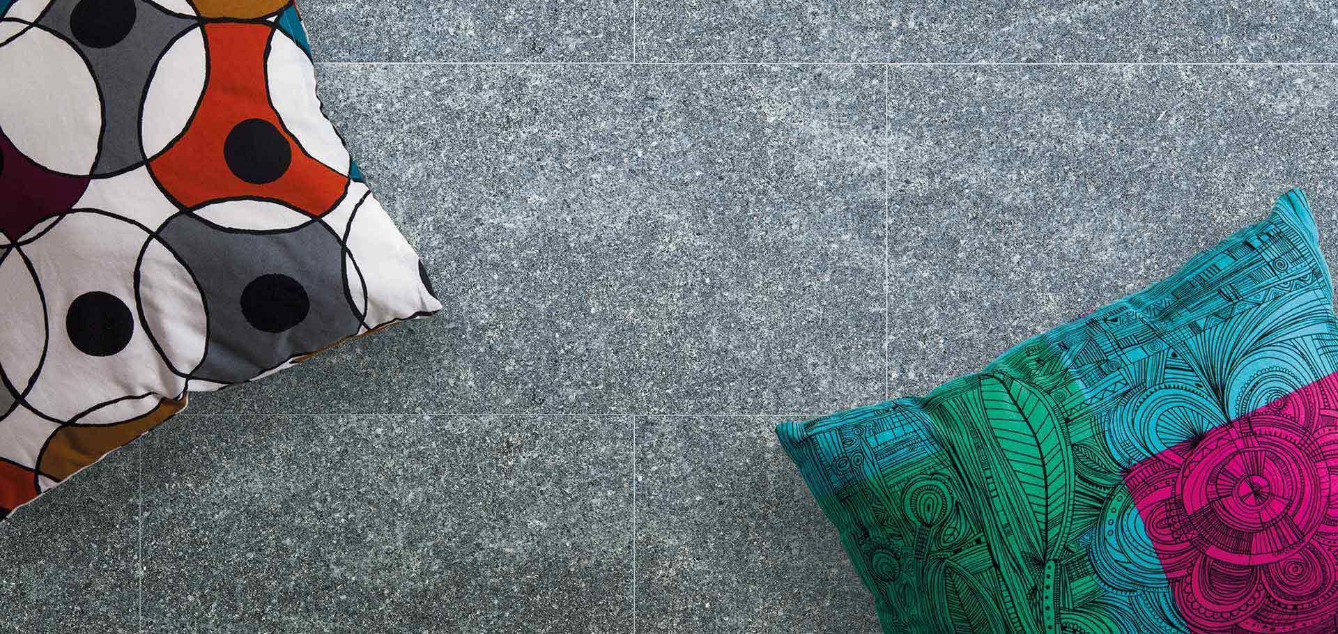 Stone tiles for indoor and outdoor
